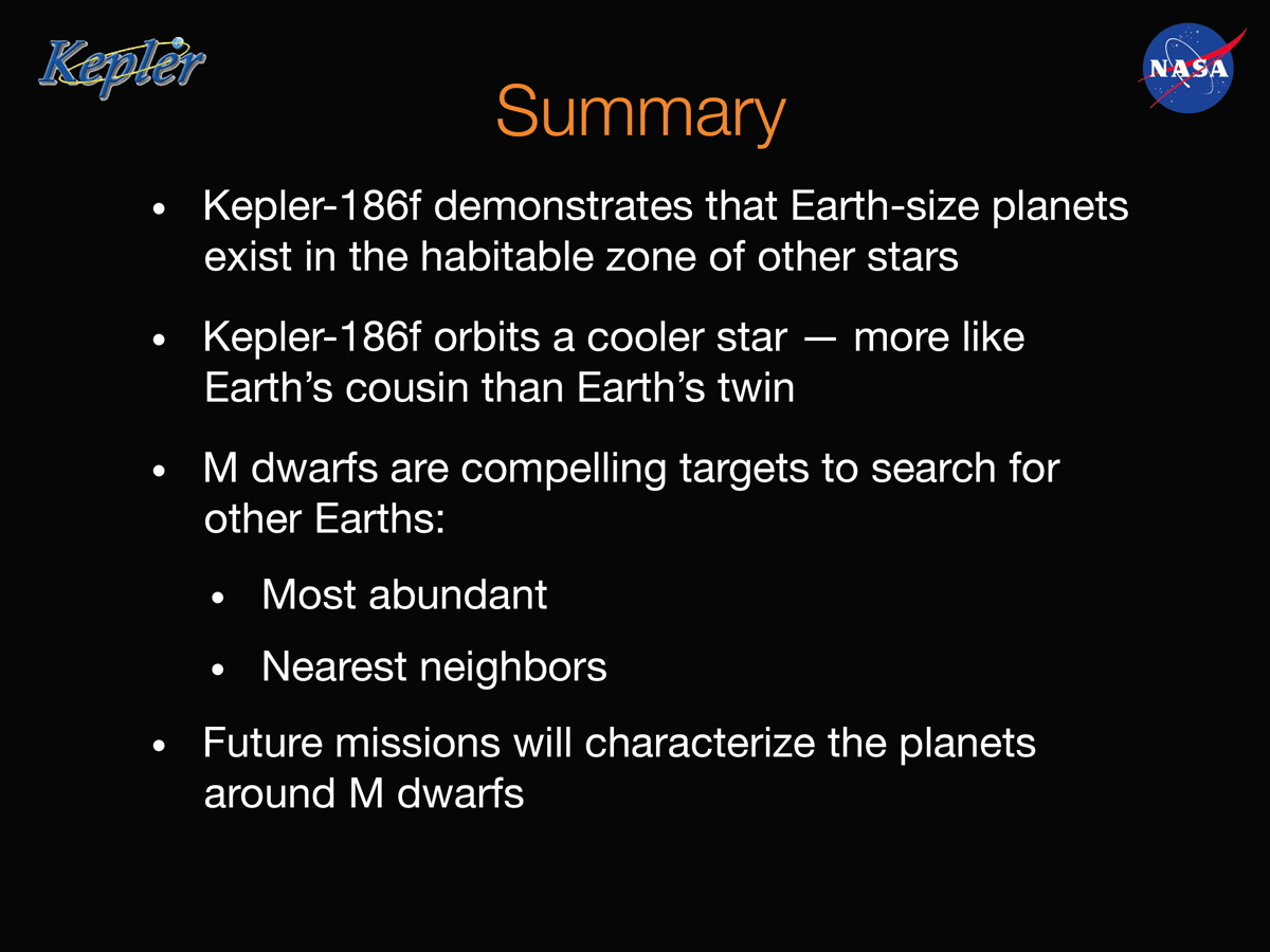 Barclay Summary Slide
