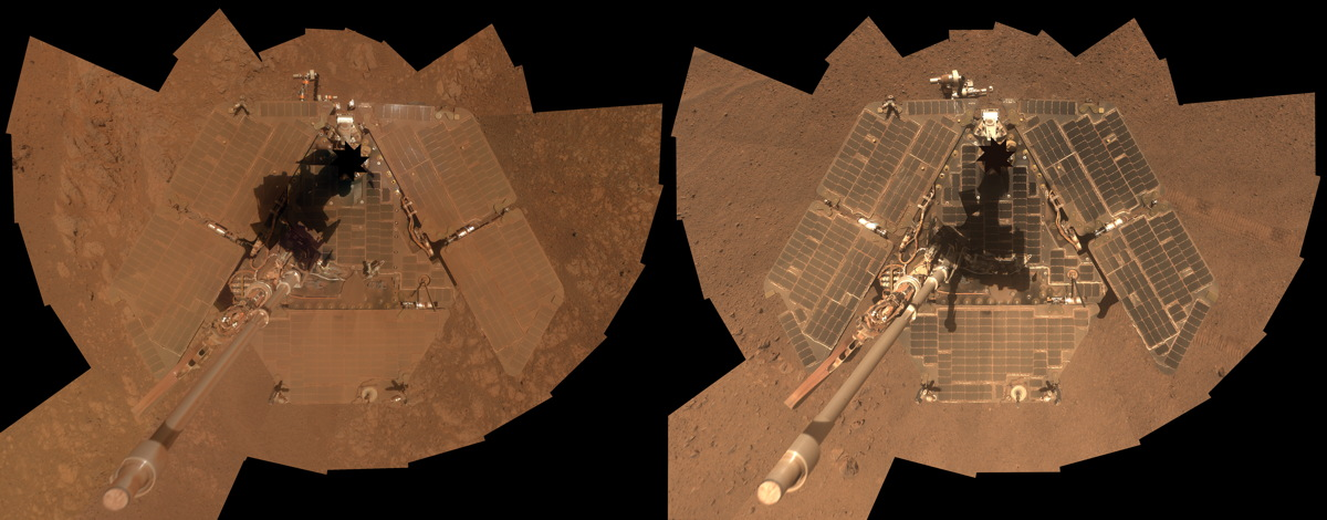 Opportunity: The Amazing Self-Cleaning Mars Rover (Photos)
