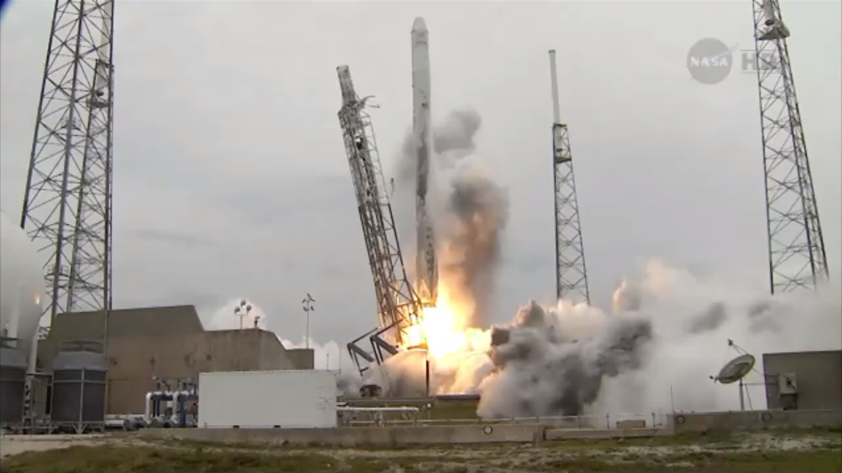 SpaceX Launches Robotic Cargo Mission to Space Station