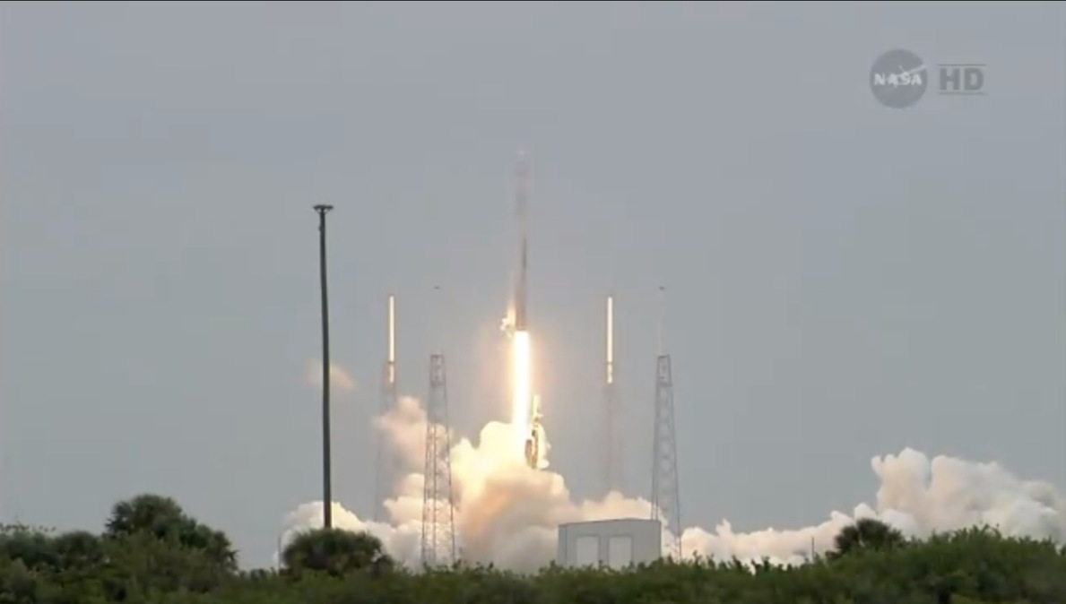 SpaceX's Third Dragon Capsule Launch #2