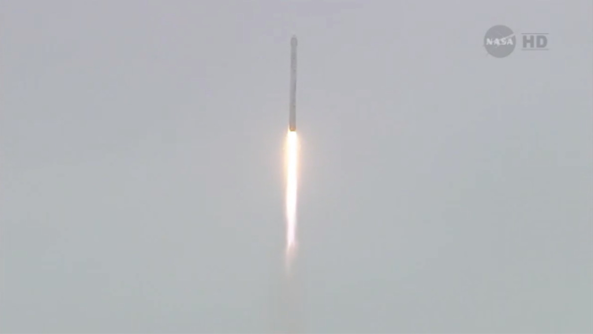 SpaceX's Third Dragon Capsule Launch #3