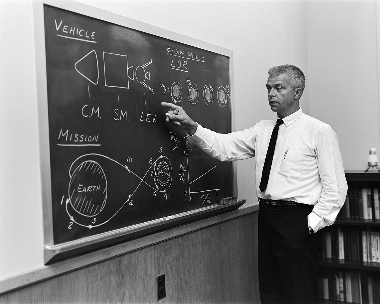 John Houbolt, NASA Engineer Who Fought for Moon Landing Method, Dies at 95