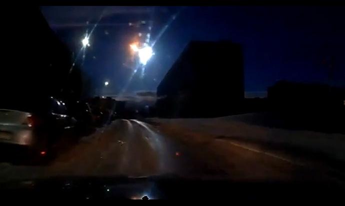 Déjà Vu: Bright Fireball Explodes Over Russia (Video)