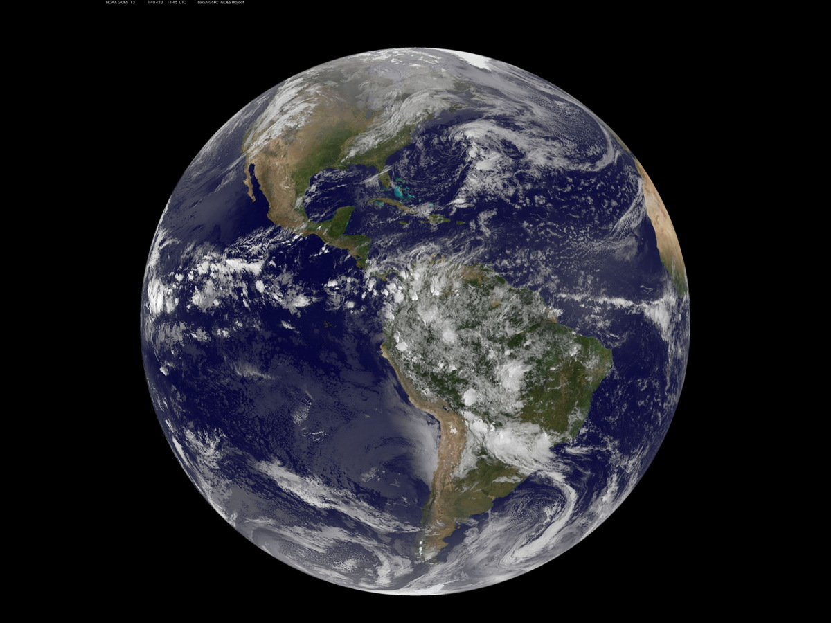 Earth Day from Space: Satellite Snaps Far-Out Photo (Image)