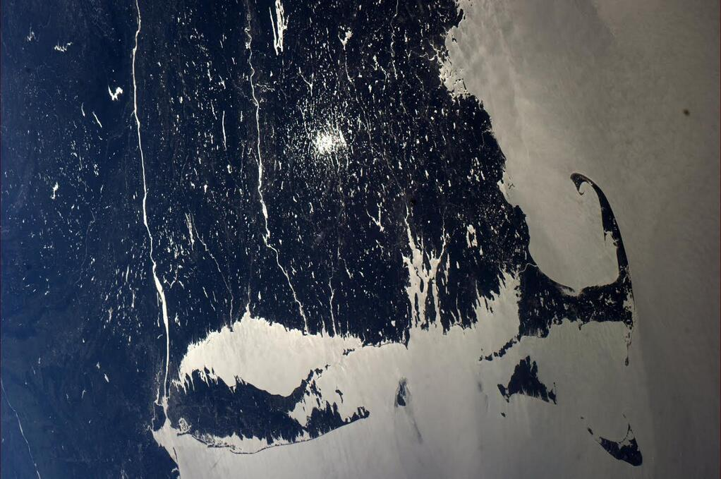 Northeast United States Seen from Space