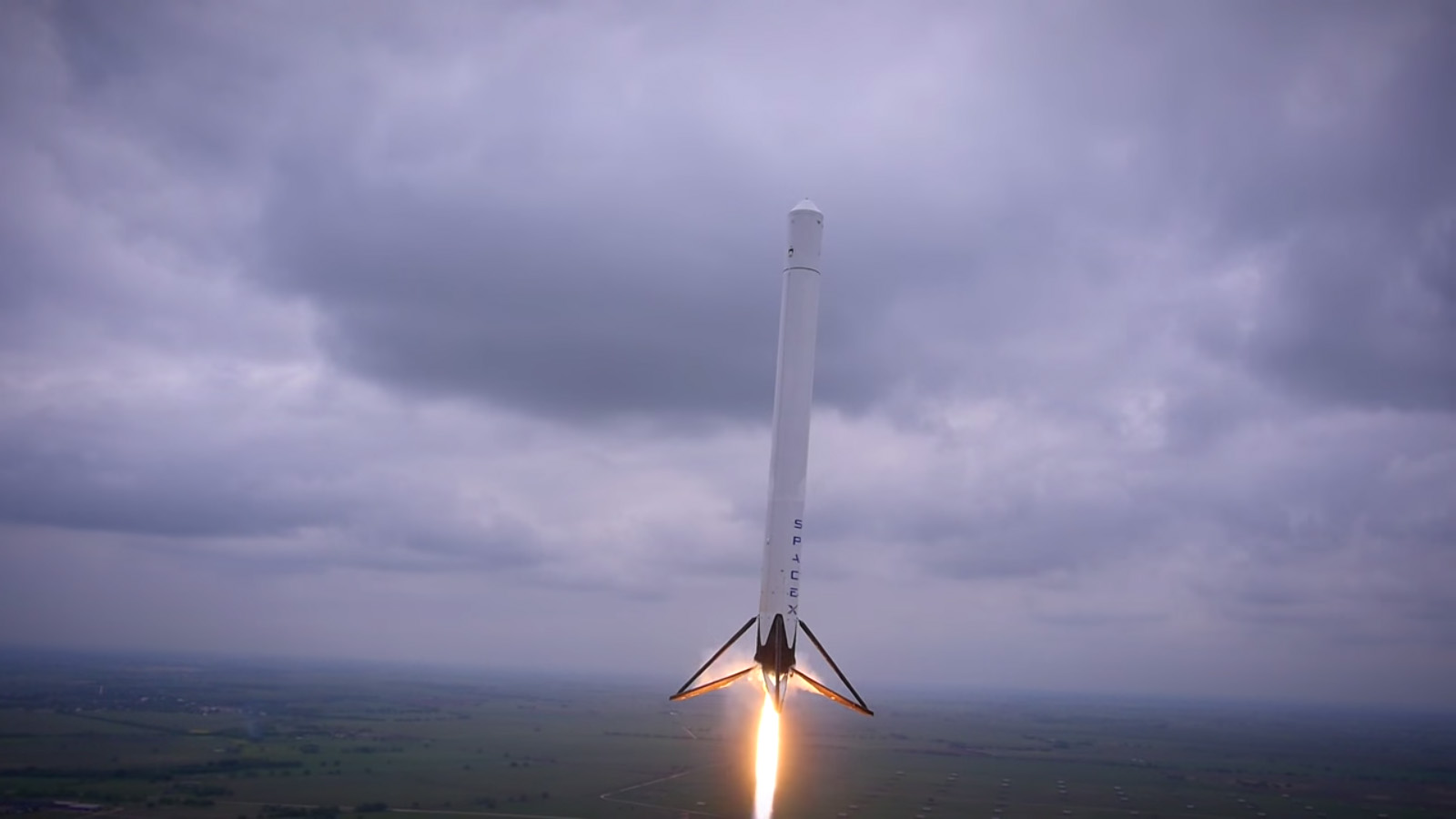 SpaceX F9R Reusable Rocket Launch Altitude