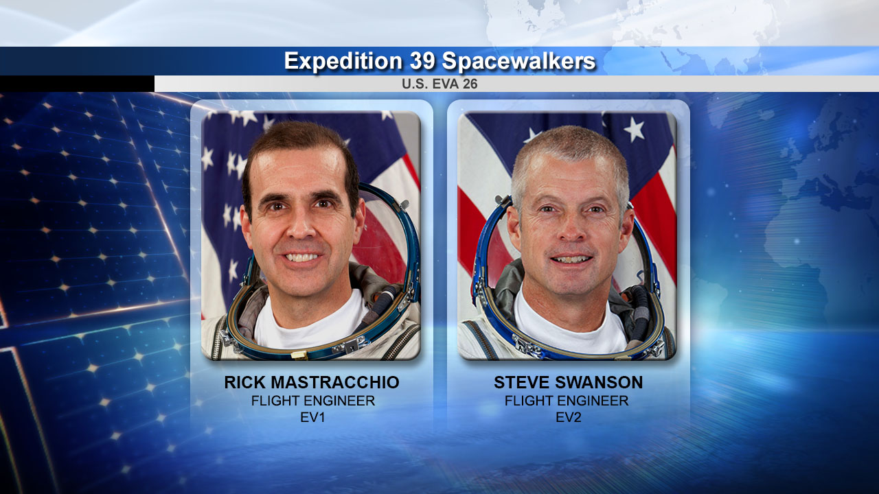 Expedition 39 Spacewalkers US EVA 26