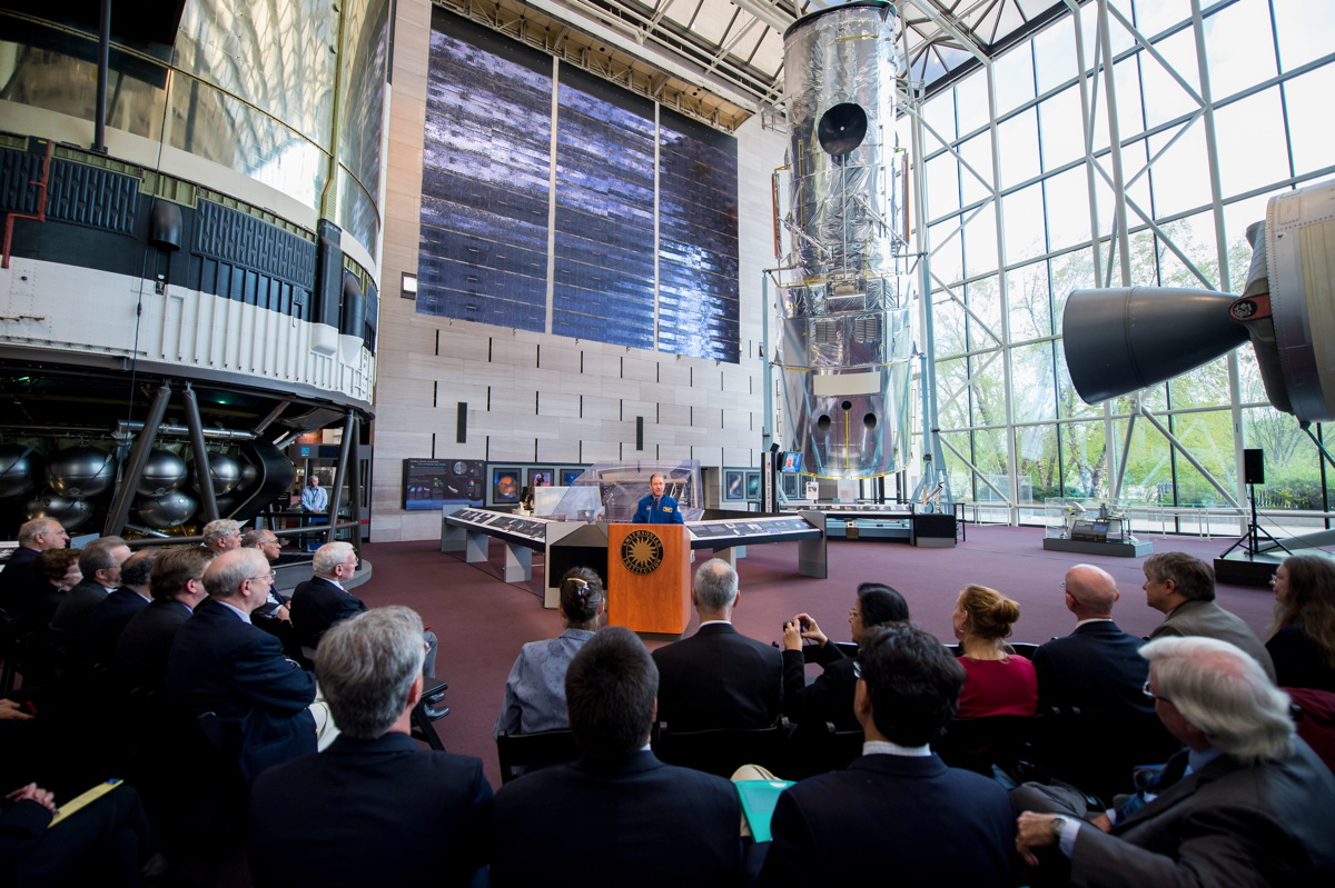 Hubble Space Telescope Instruments Star in New Smithsonian Exhibit