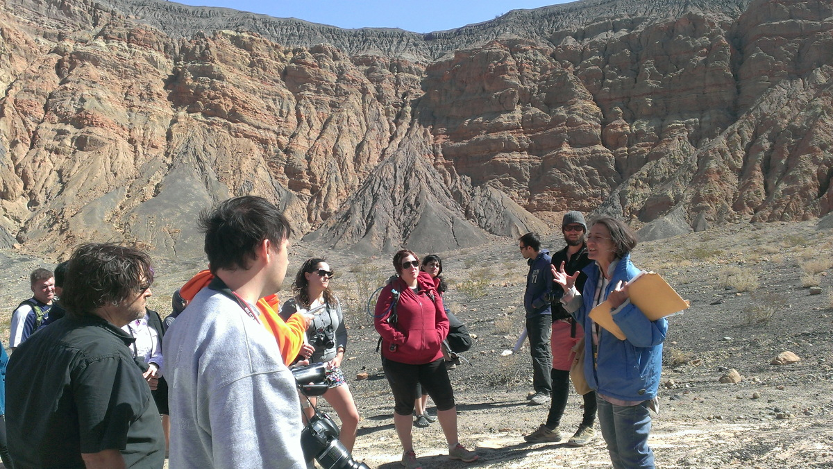 Bonaccorsi Explains the History of Ubehebe Crater #1