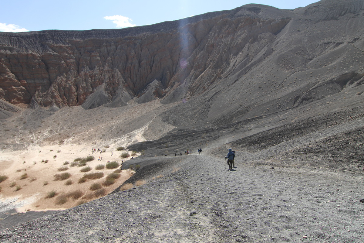 Ubehebe Crater in Death Valley #2