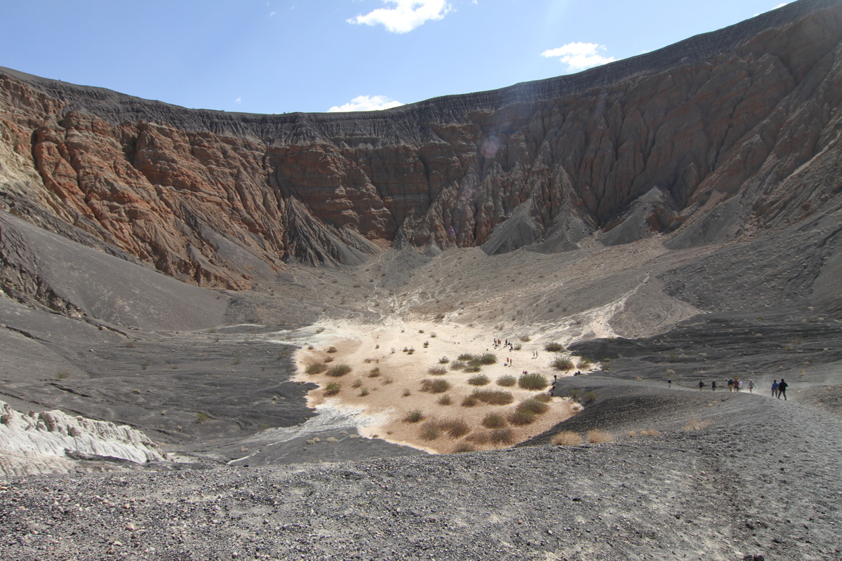 Ubehebe Crater in Death Valley #3