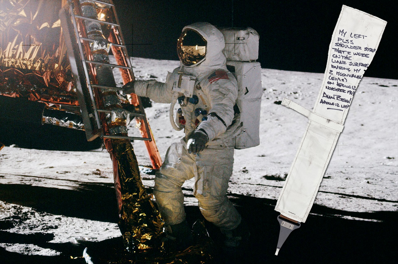 Apollo 12 Astronaut's Moon Mementos Up for Auction