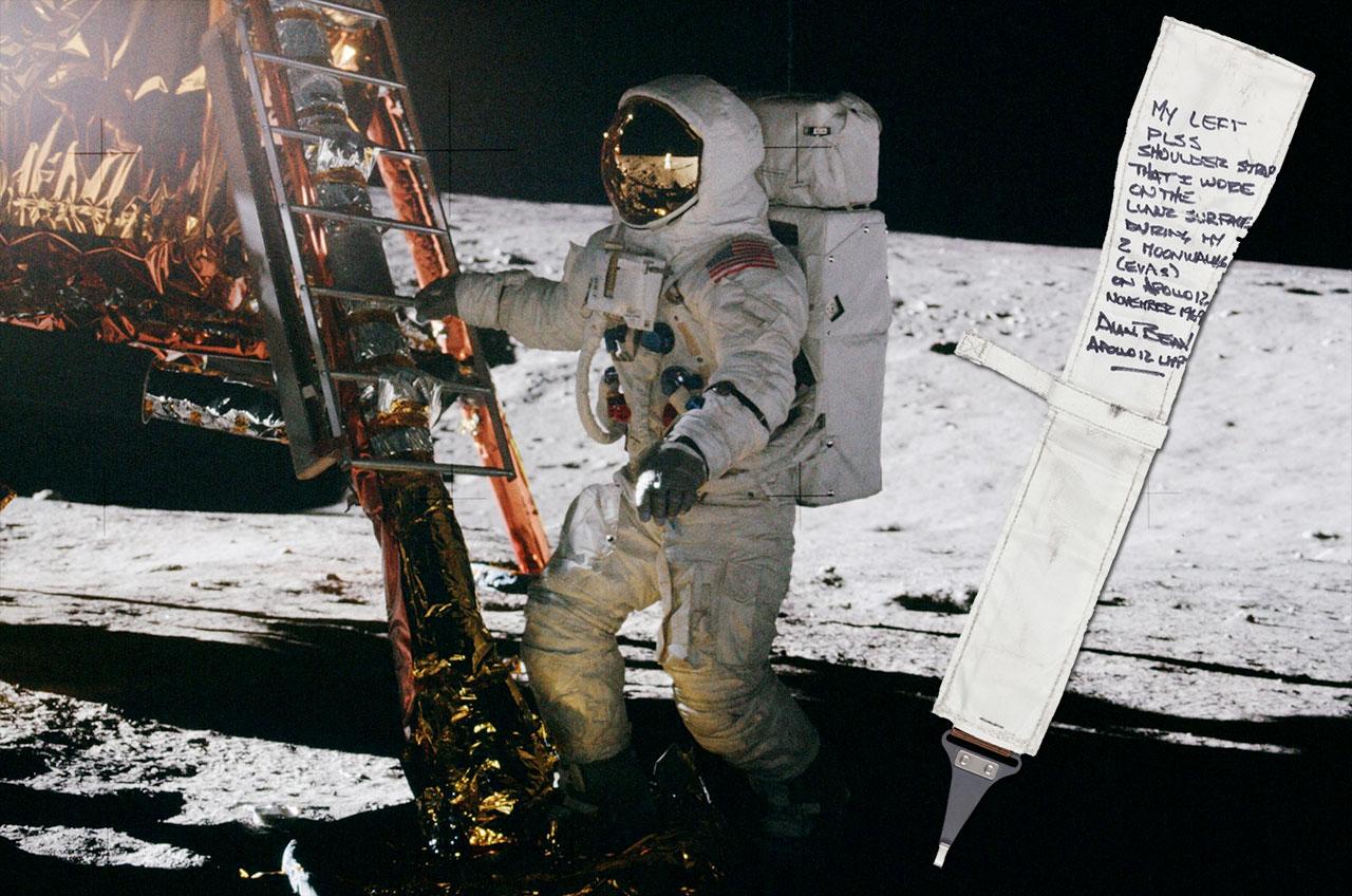 Apollo 12 Astronaut's Moon Mementos Up for Auction