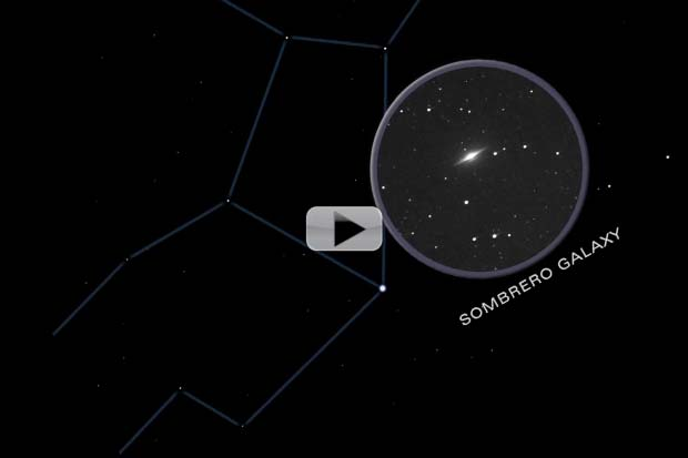 Skywatch May 2014 – 3 Constellations Ripe with Galaxies | Video