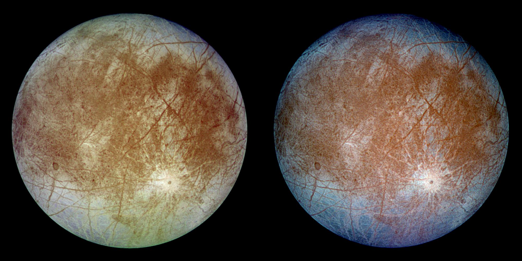 Jupiter's Ice-covered Satellite, Europa