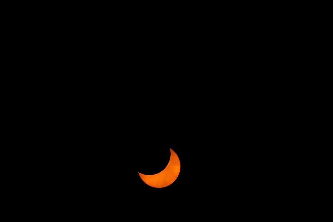 Maximum Solar Eclipse View of April 29: Jay Pasachoff