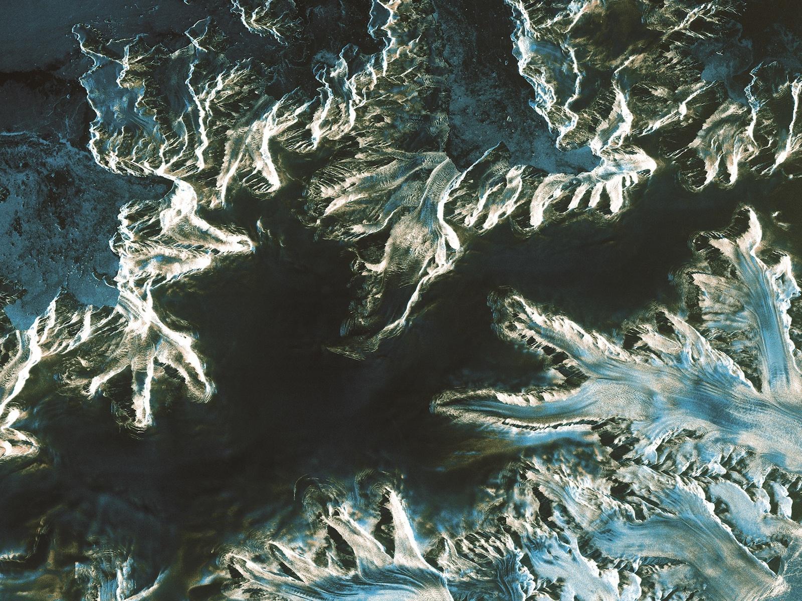 Antarctica Peninsula from Sentinel-1 ESA