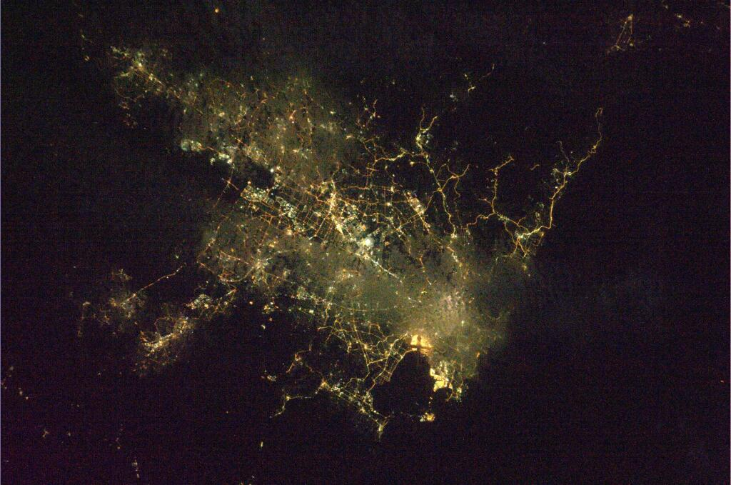 Sydney, Australia Seen from the International Space Station