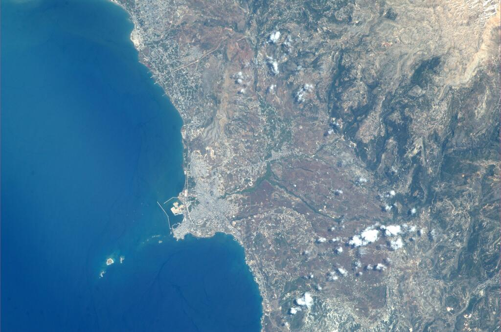 Tripoli from Space