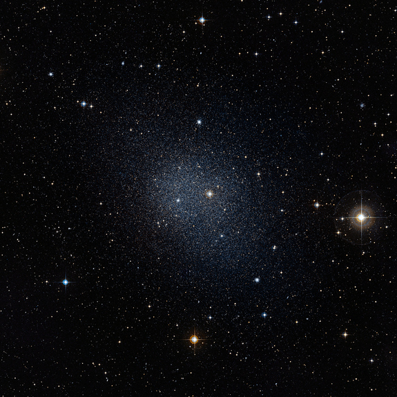 Dwarf galaxies such as this spherical Milky Way satellite are considered a prime source for hosting dark matter.