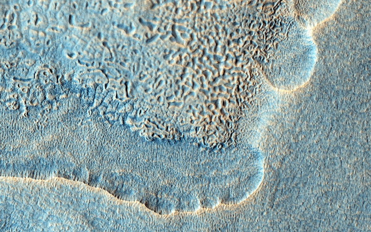 Mars Ejecta