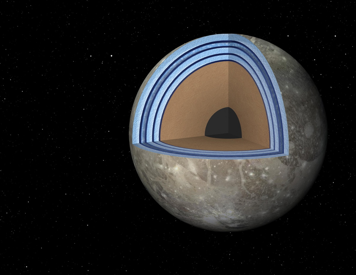 Jupiter Moon's 'Club Sandwich' Ocean Could Potentially Support Life