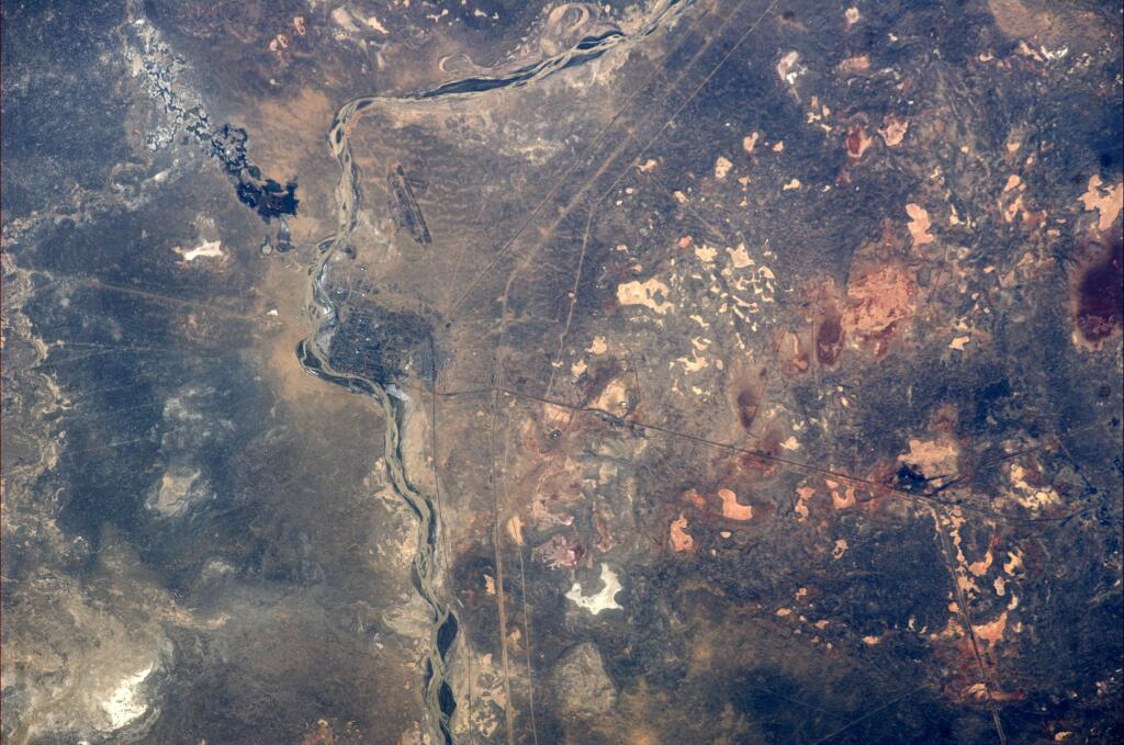 Koichi Wakata: Amazing View of Baikonur Cosmodrome from ISS