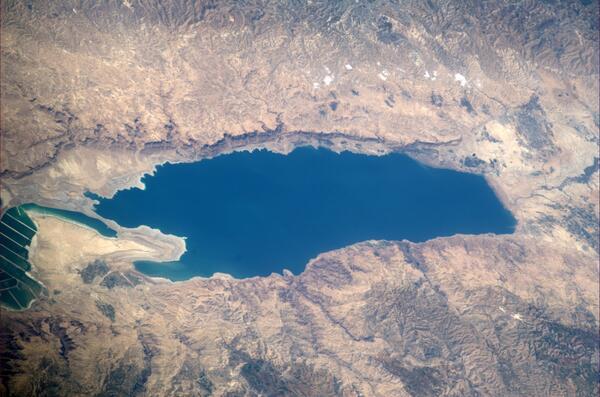 Koichi Wakata: Dead Sea