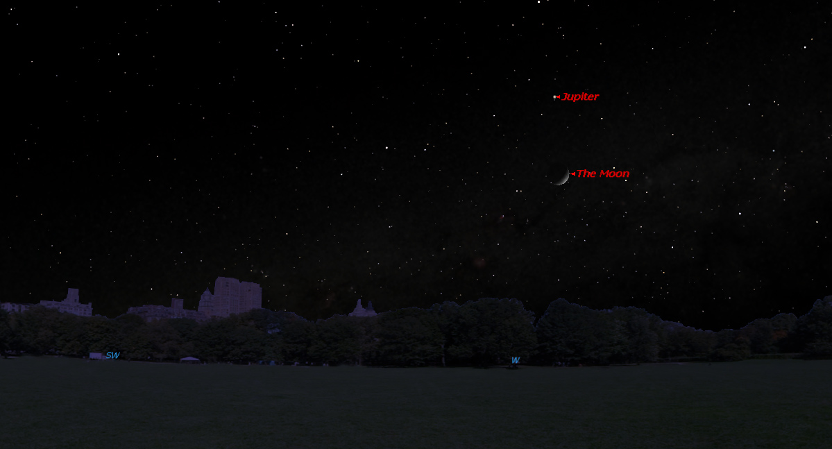 Jupiter Will Dazzle Above Moon This Weekend: How to See It