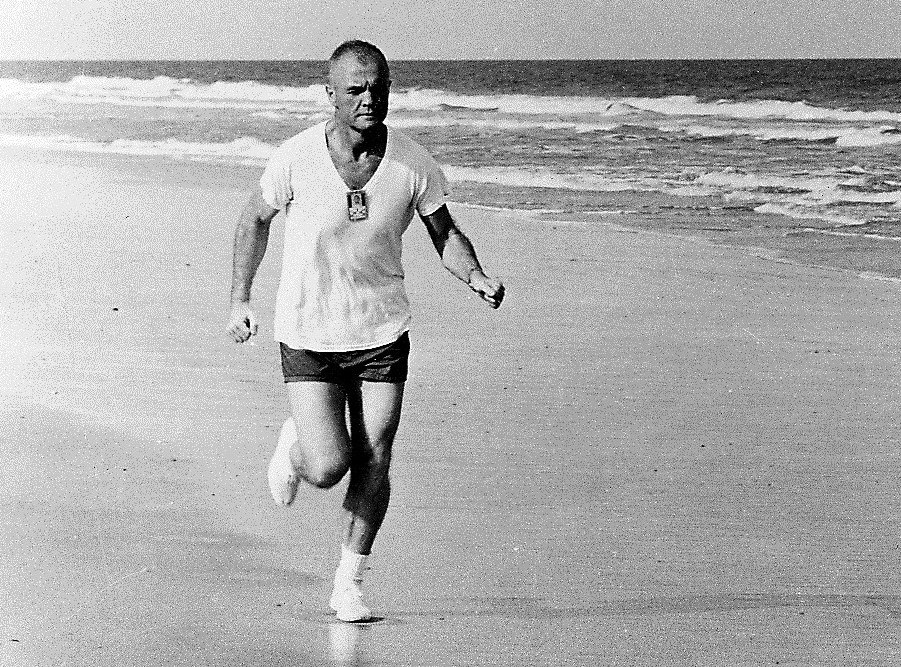 John Glenn Running