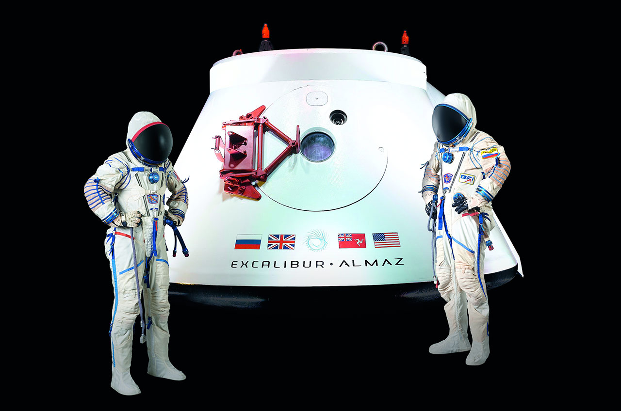 Russia's Sokol Spacesuits