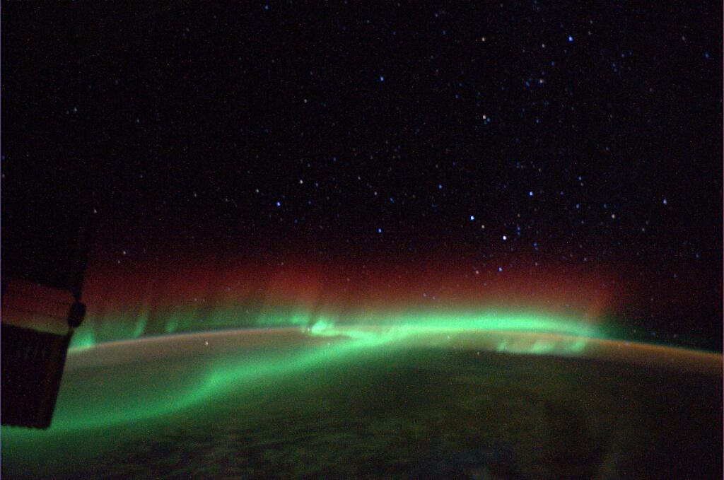 Aurora Over Southern Africa