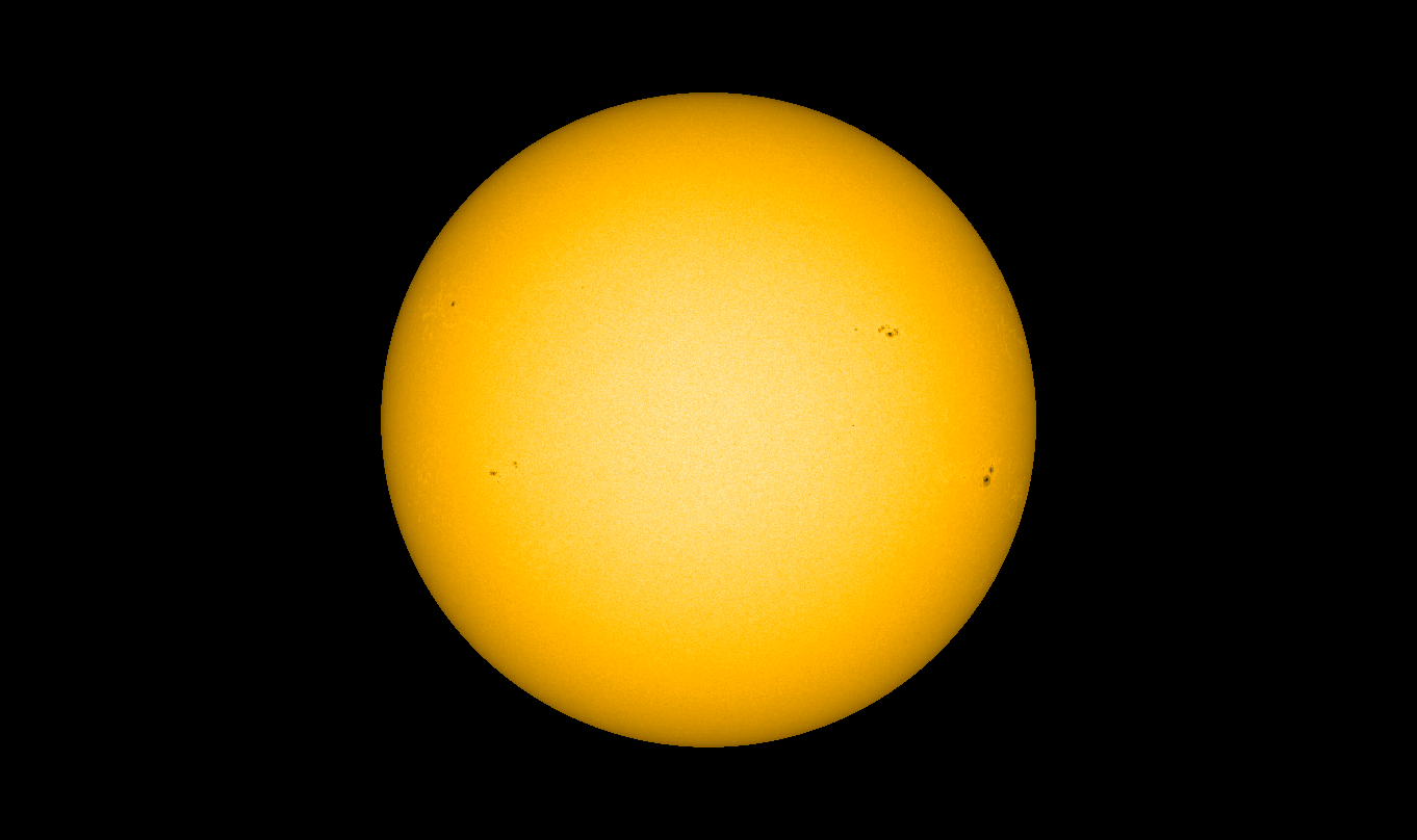 Sun's Surface on March 29