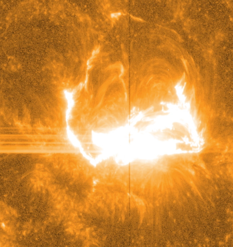 March 29 Solar Flare in 1400 Angstrom