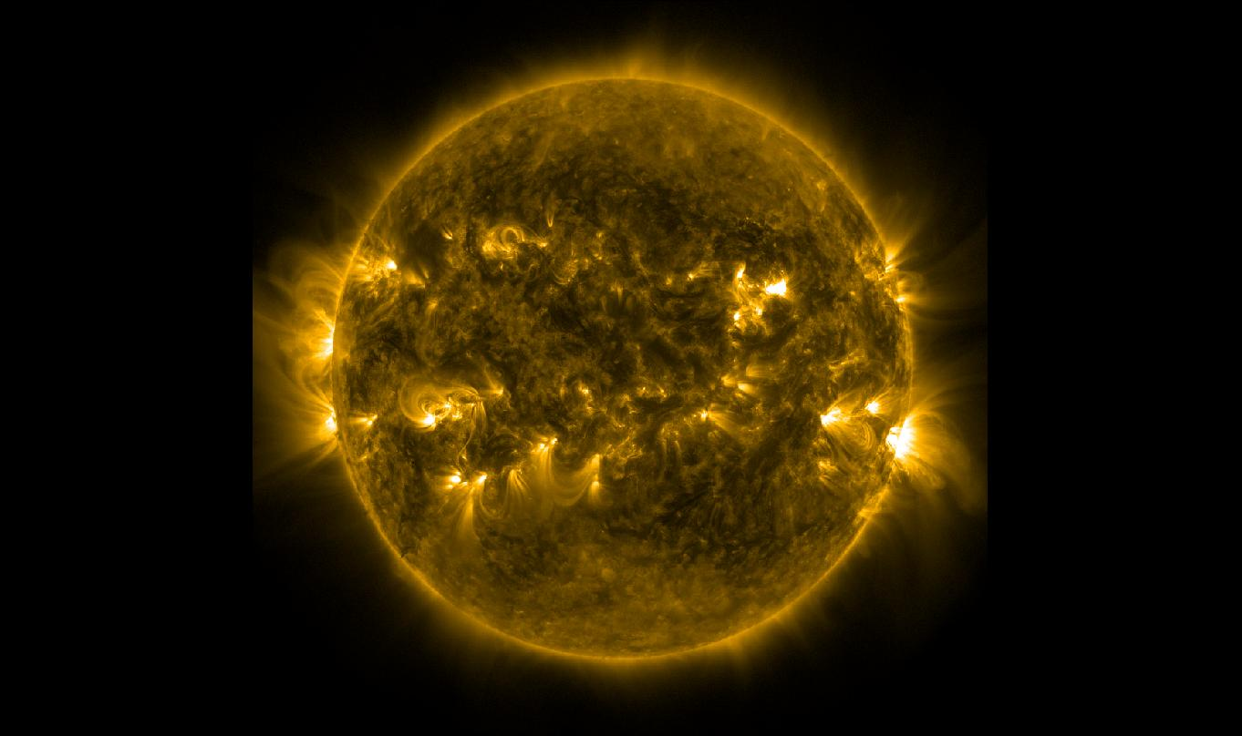 March 29 Solar Flare in 171 Angstrom