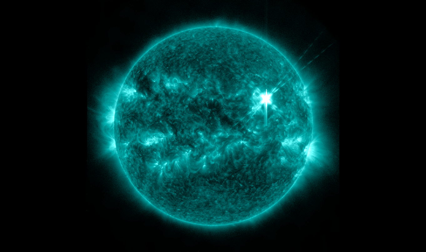 March 29 Solar Flare in 131 Angstrom