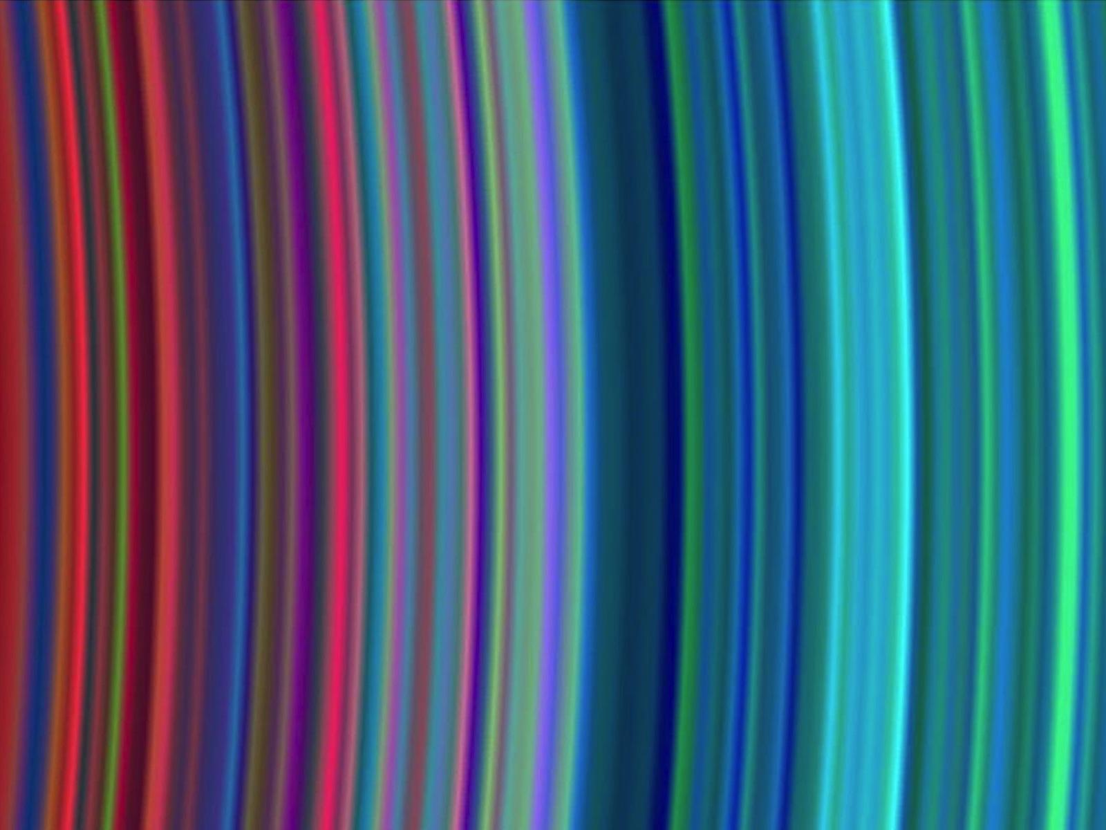 Saturn's Rainbow Rings