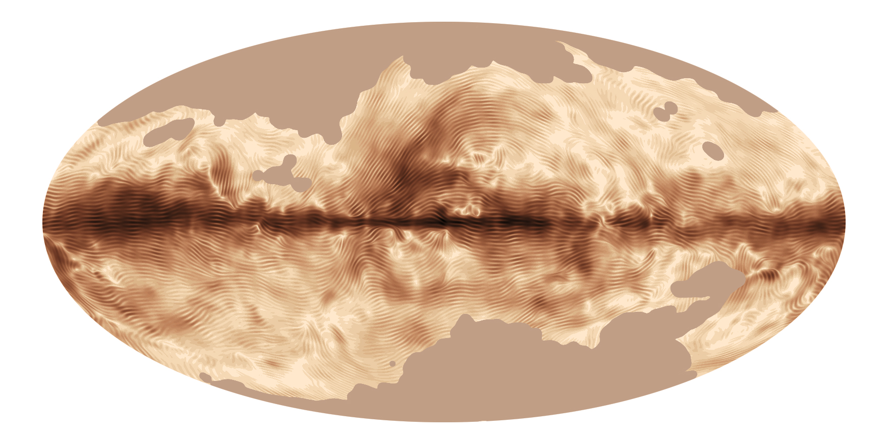 Magnetic 'Fingerprints' of Milky Way Galaxy Revealed in New Map (Image)