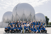 This image of the International Space Orchestra musicians was taken by Neil Berrett. The orchestra is a project by Nelly Ben Hayoun of the SETI Institute.