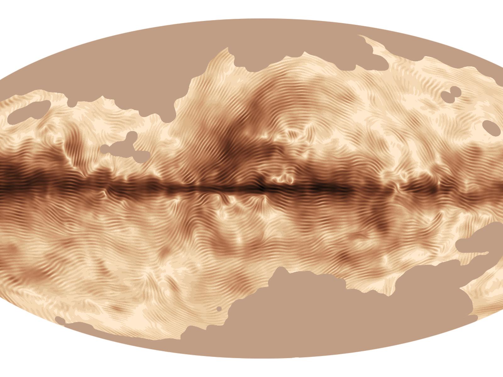 Magnetic Fingerprint | Space Wallpaper