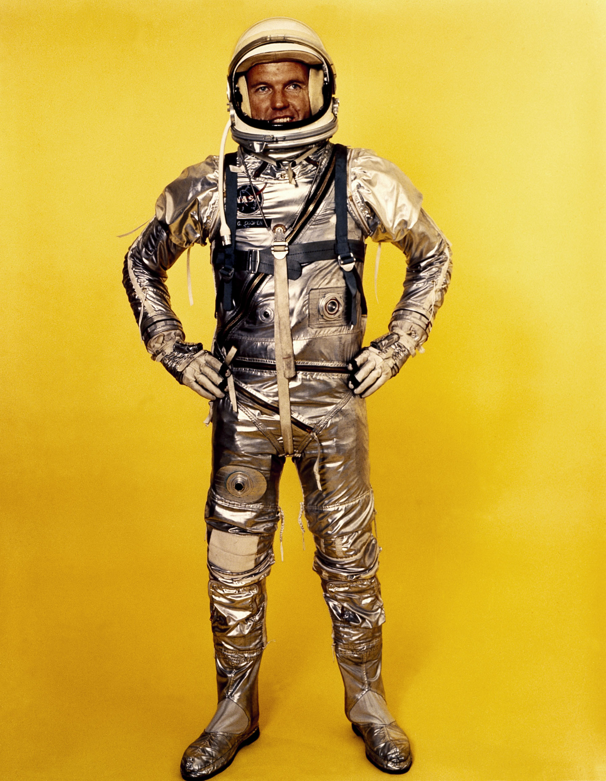 Gordon Cooper in Project Mercury Suit - 1959
