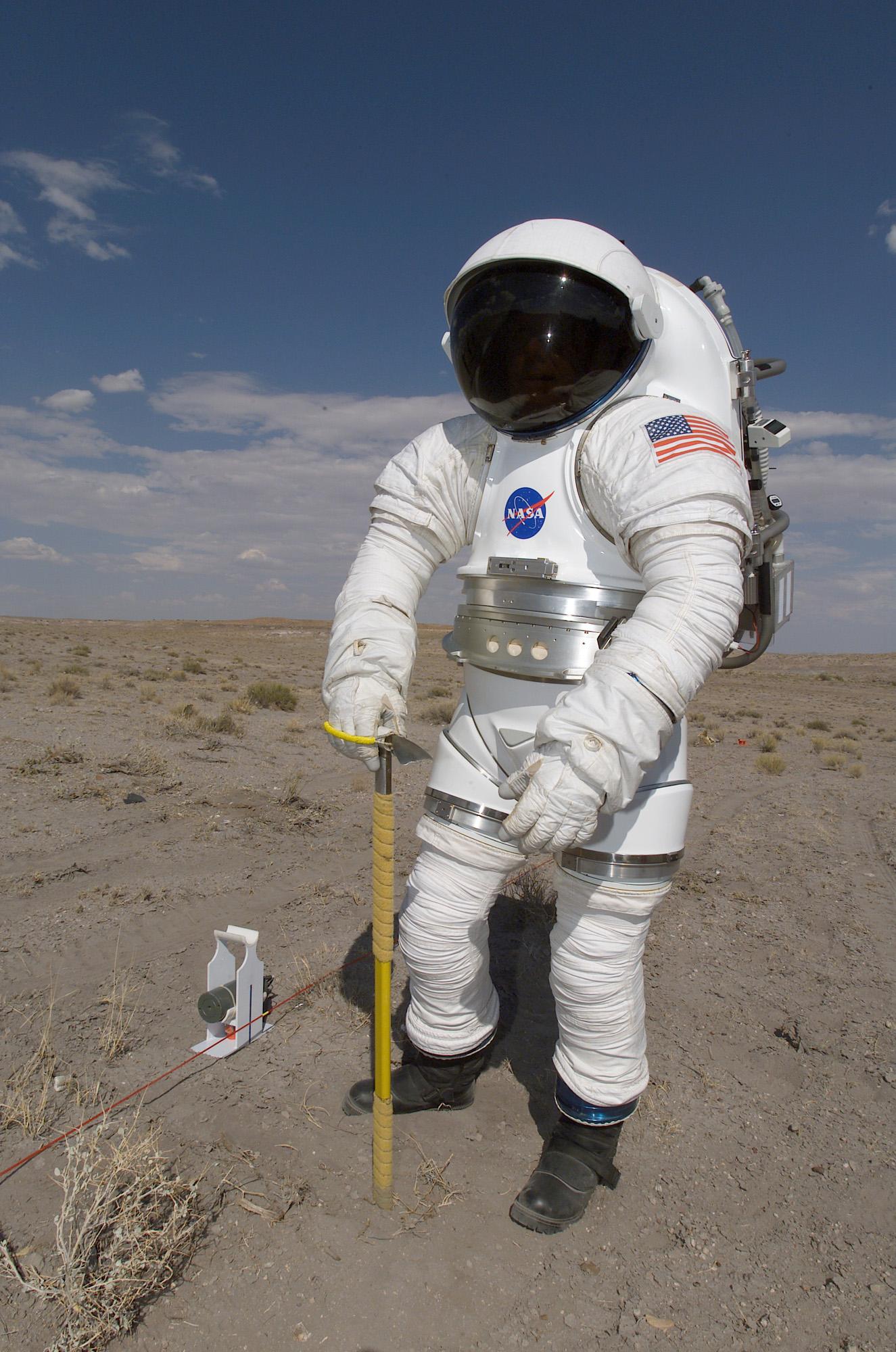MK III Advanced Spacesuit