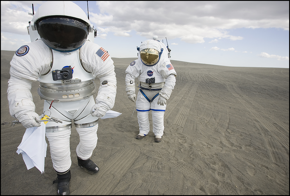 Prototype Spacesuits