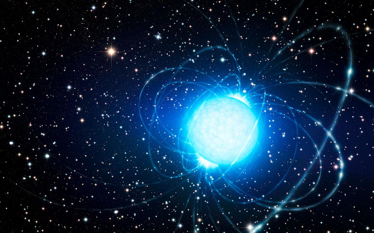 Cosmic blast: Magnetar explosion rocked Earth on December 27, 2004