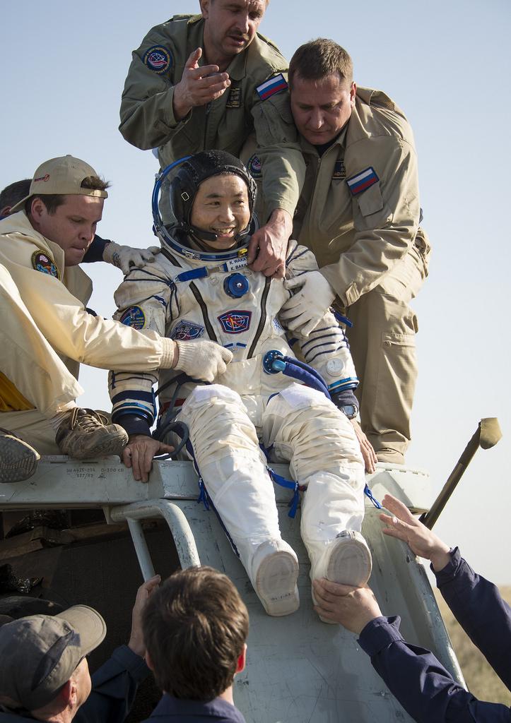 JAXA Astronaut Koichi Wakata Returns to Earth