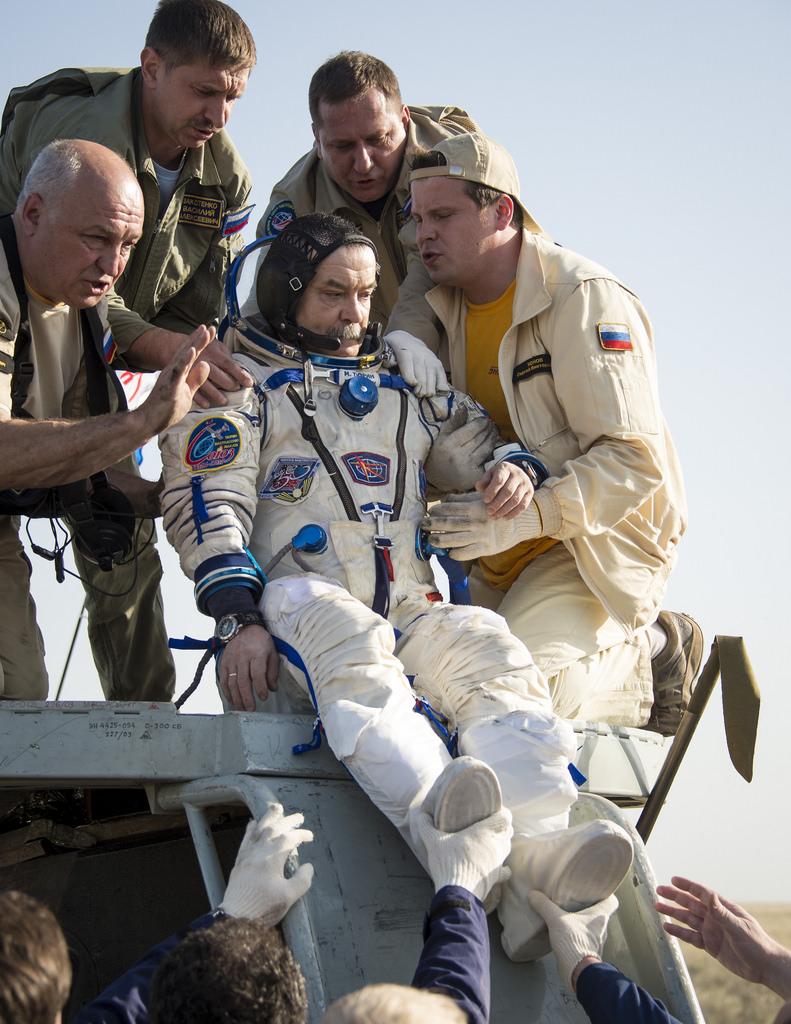 Soyuz Commander Cosmonaut: Mikhail Tyurin