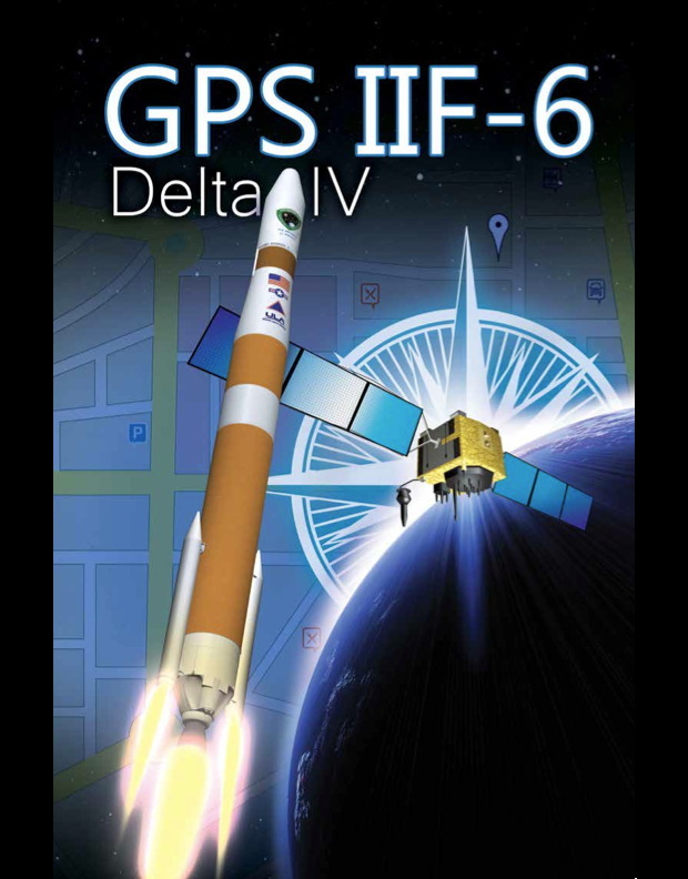 GPS 2F-6 Spacecraft Mission Overview