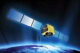The GPS 2F-6 satellite will upgrade the GPS satellite system. The satellite launched to orbit on May 16, 2014.