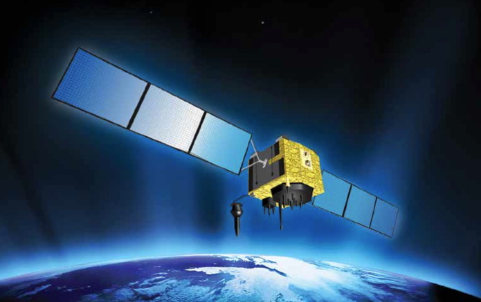 GPS 2F-6 Satellite Illustration