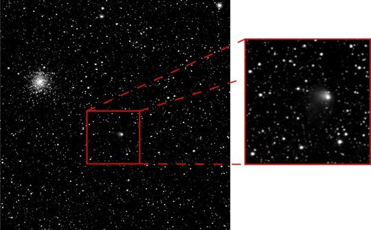 Comet-Chasing Rosetta Probe Spies Dusty Veil Around Its Target